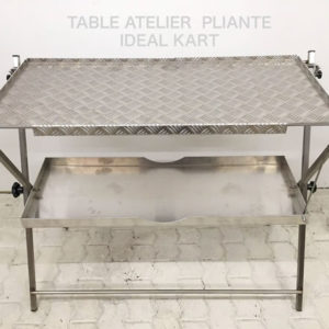 Table aluminium pliante